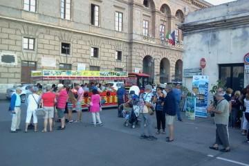 croceristi stranieri a Milazzo