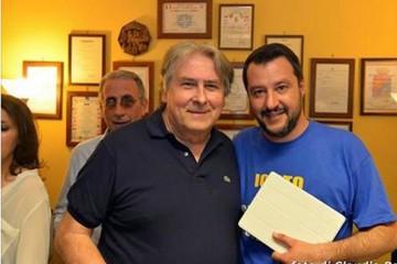 Giuseppe Ragusi e Matteo Salvini