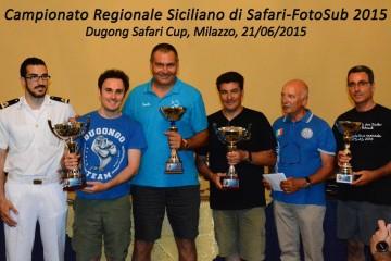 i campioni regionali di Safari-FotoSub 2015