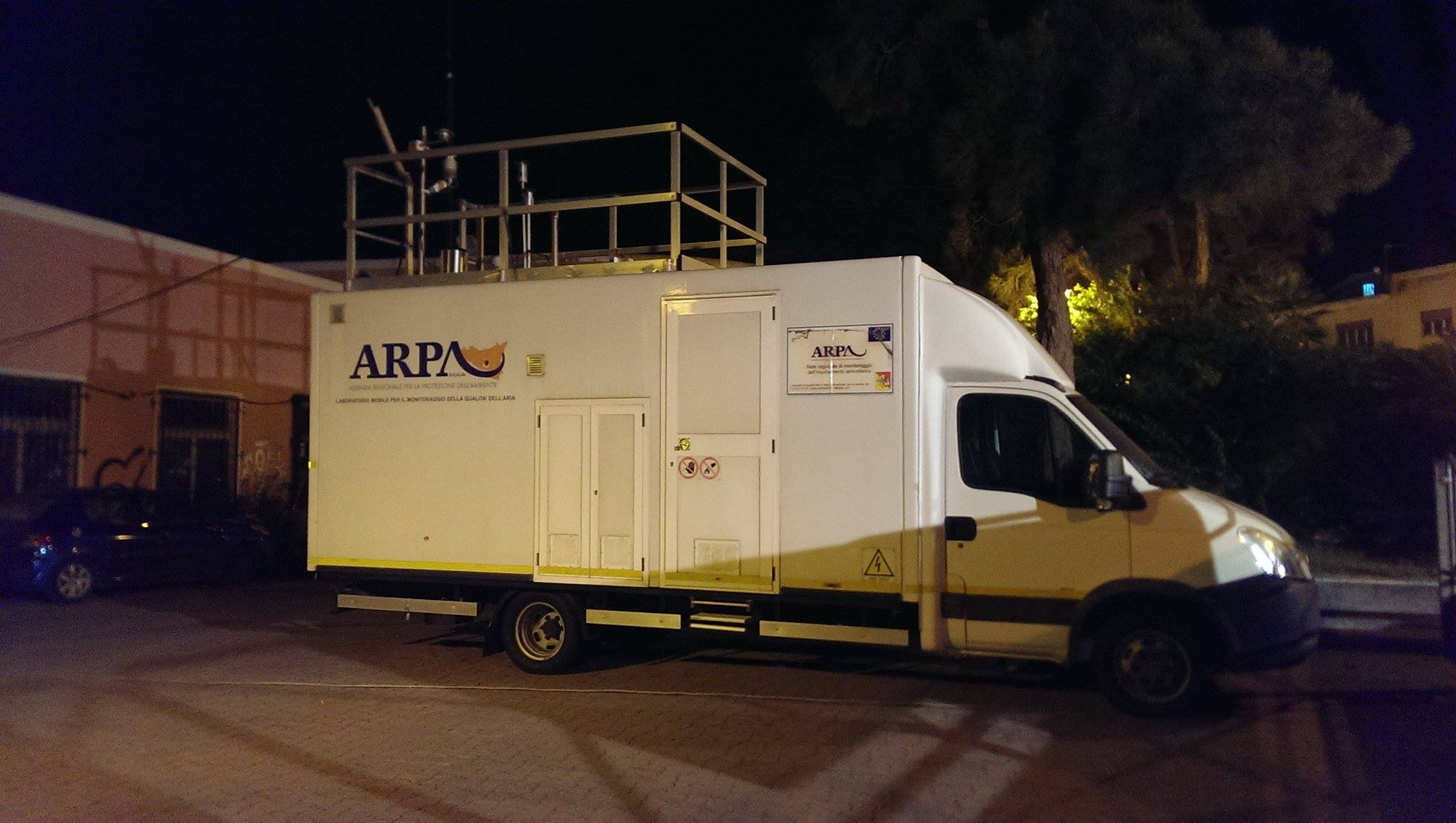 ... 'aria, un laboratorio mobile dell'Arpa per Milazzo - Oggi Milazzo