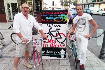Da sinistra Nuccio e Francesco Pensabene