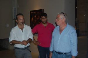 Da sinistra Giuseppe Morgana, Pietro Formica e Gianfranco Nastasi