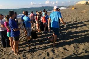 I volontari di #piùspiaggiapertutti