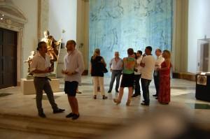 """I consiglieri comunali visitano la mostra """"I tesori di Milazzo"""""""