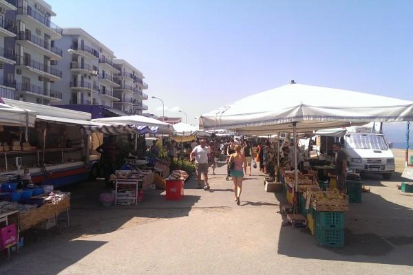 Il mercato del giovedì a MIlazzo