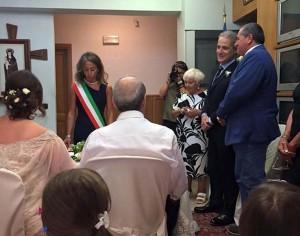 Un momento della cerimonia (foto facebook)