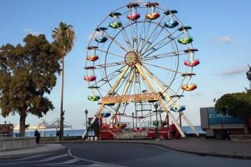 La ruota panoramica in Marina Garibaldi