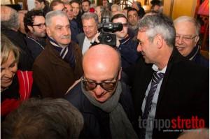 Francantonio genovese e Peppe Marano (foto Tempostretto.it)