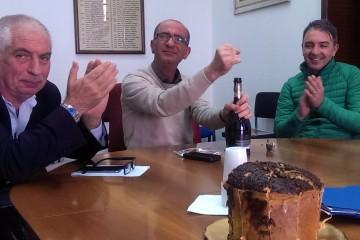 Da sinistra GIanfranco Nastasi, Giovanni Formica, Maurizio Capone