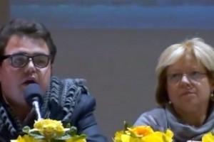 Peppe Maimone e l'assessore regionale Mariella Lo Bello