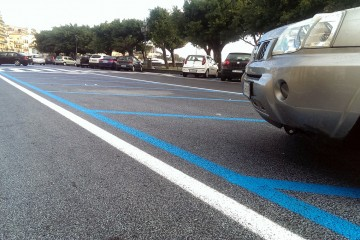 Parcheggi in Marina Garibaldi
