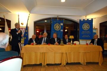 La serata conviviale del Rotary