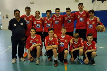 L'under 14 del Minibasket Milazzo (2016)