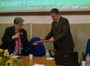 La preside Nicosia omaggia Di Matteo