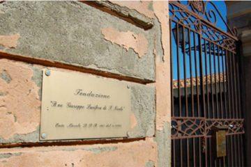 L'ingresso della fondazione