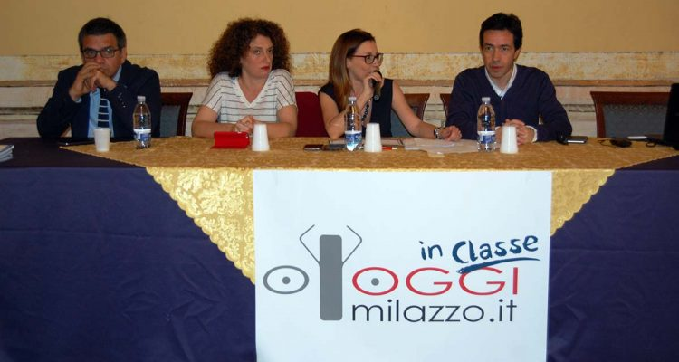 Da sinistra Nino Amadore, Manuela Modica, Rossana Franzone, Salvatore Presti
