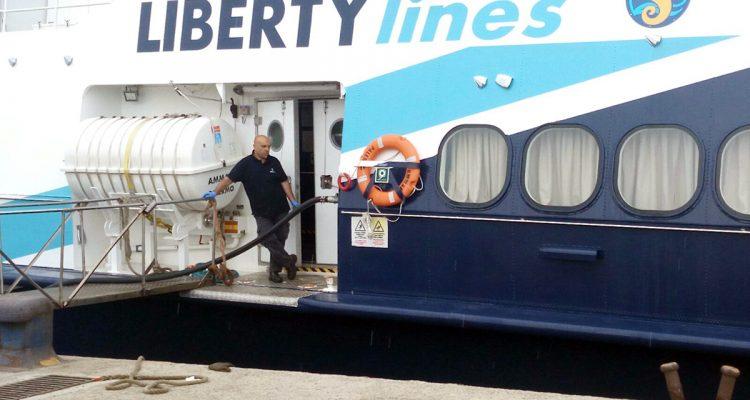 Commissariata la Liberty Lines per corruzione