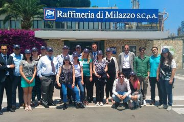 La delegazione di studenti Erasmus + alla Ram