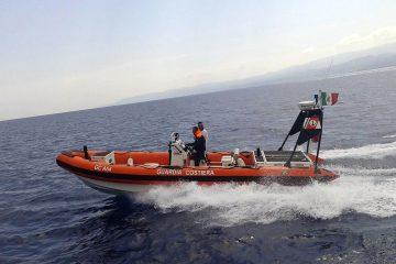 La Guardia costiera di Milazzo in azione