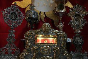 Le reliquie di San Francesco di Paola in parte custodite al santuario di Milazzo