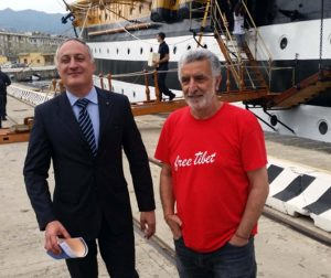 Filippo Romano e Renato Accorinti