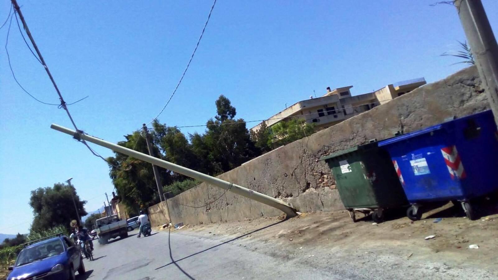 Milazzo come pisa al posto della torre a pendere un palo oggi milazzo oggi milazzo - Incidente giardini naxos oggi ...