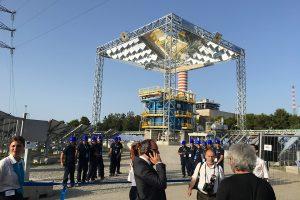 Il nuovo impianto solare stem alla centrale A2a di San Filippo del Mela