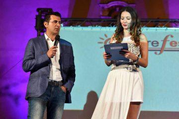 Gianfranco Cusumano e Nadia La Malfa (Foto Giovanni Isolino)