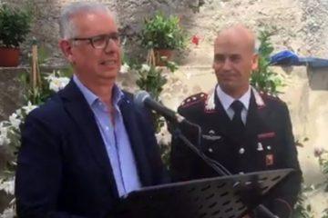 Pippo Scandurra (Fai) e il capitano Antonio Ruotolo