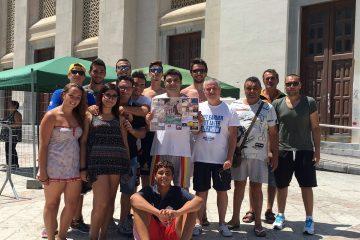 Lo staff del Summer Basket Milazzo (Foto Gabriele Cusumano)