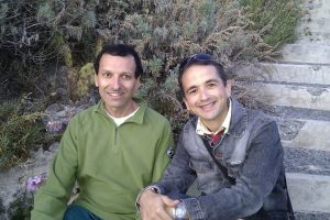 LLino Calderone e Vincenzo Pizzimenti (Foto Facebook/Lino Calderone)