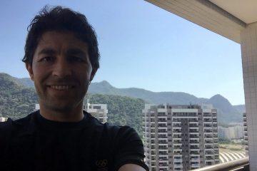 Selfie del milazzese Daniele Sottile a Rio