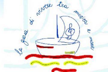 Il logo della Rassegna musicale L'Angelo biondo di Milazzo