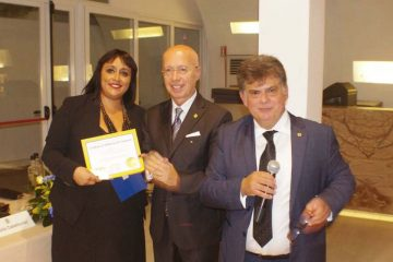 L'ingresso del nuovo socio Rosanna De Luca al Lions Club Milazzo