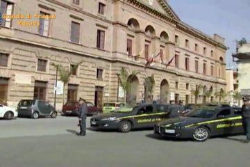 La Guardia di Finanza al Palazzo municipale