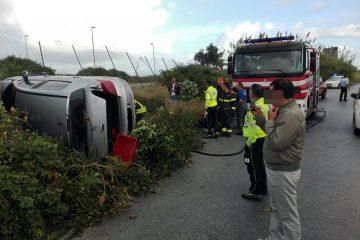 L'incidente di stamattina nella zona Asi di Giammoro