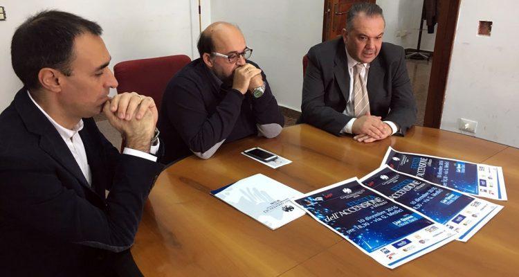 Da sinistra Luca Franceschini, Giovanni Petrungaro, Carmelo Picciotto