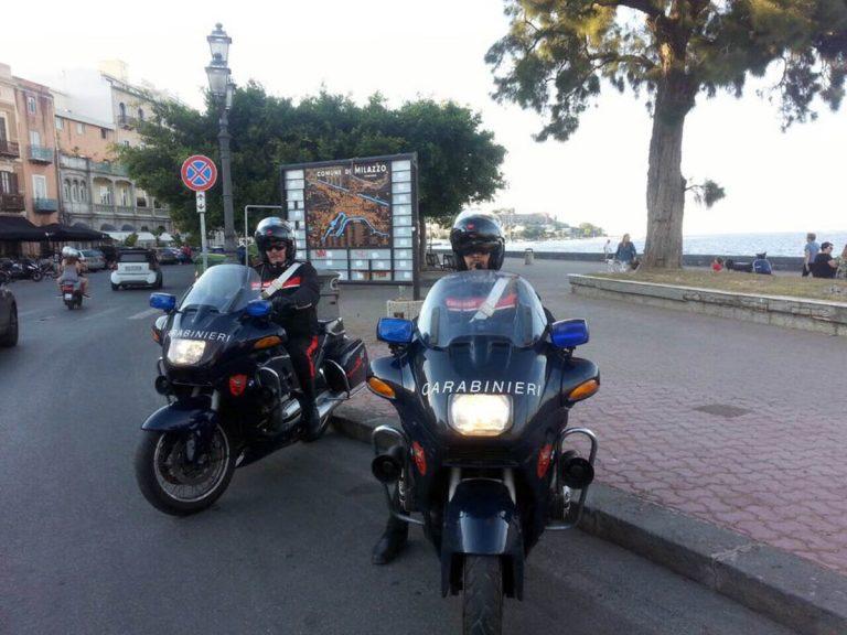 A Milazzo arrivano i carabinieri a cavallo…delle moto