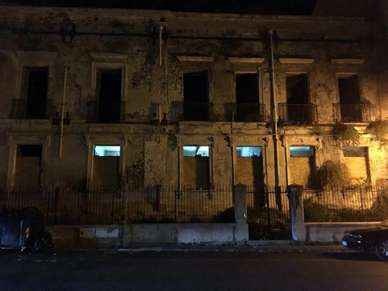 Il vecchio ospedale di Vaccarella tra luci, fantasmi…e rumori notturni
