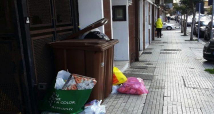 Neve, problemi per la raccolta dei rifiuti