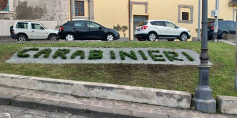 Milazzo, i carabinieri finiscono…al verde
